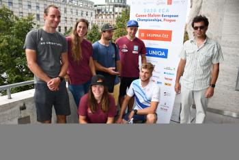 Vodní slalomáři jsou na startu svého ME, které se koná v Praze v Troji od 18. do 20. září 2020